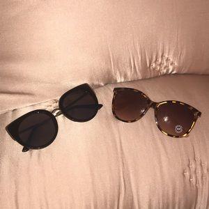 NWT Set of Francescas and Aeropostale Sunglasses